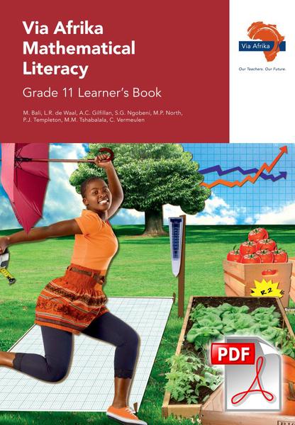 Via Afrika Mathematical Literacy Grade 11 Learner's Book (PDF)