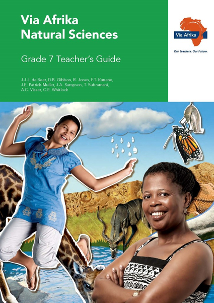 Via Afrika Natural Sciences Grade 7 Teacher's Guide