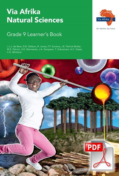 Via Afrika Natural Sciences Grade 9 Learner's Book (PDF)