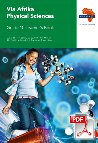 Via Afrika Physical Sciences Grade 10 Learner's Book (PDF)