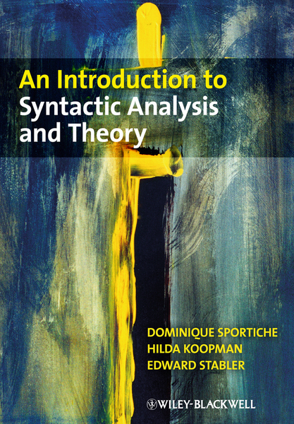 Picture of An Introduction to Syntactic Analysis and Theory