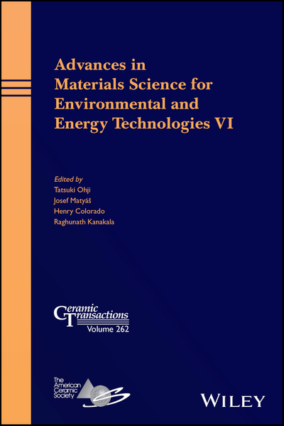 Picture of Advances in Materials Science for Environmental and Energy Technologies VI