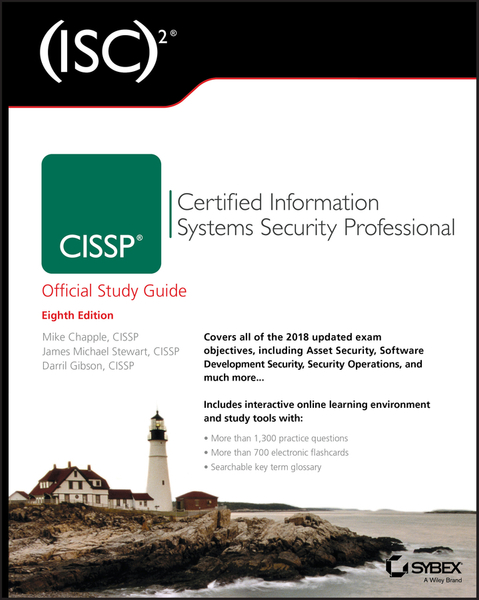 Picture of (ISC)2 CISSP Certified Information Systems Security Professional Official Study Guide