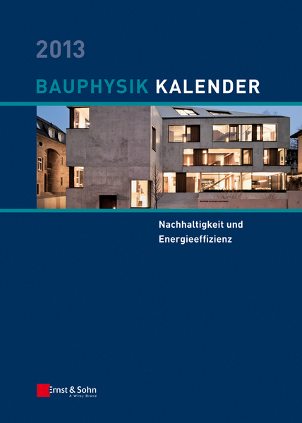 Picture of Bauphysik Kalender 2013